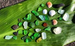 Sea Glass Hunting Oahu Hawaii