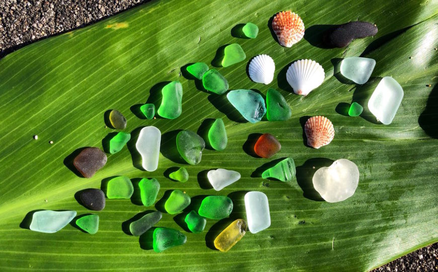 Sea Glass Hunting Oahu Hawaii