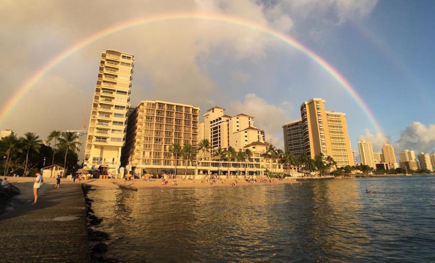 Honolulu Airport To Outrigger Waikiki Beach Resort Reef On
