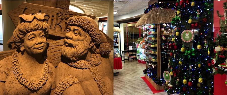 Hawaii Christmas Hotels Sheraton Waikiki Lobby