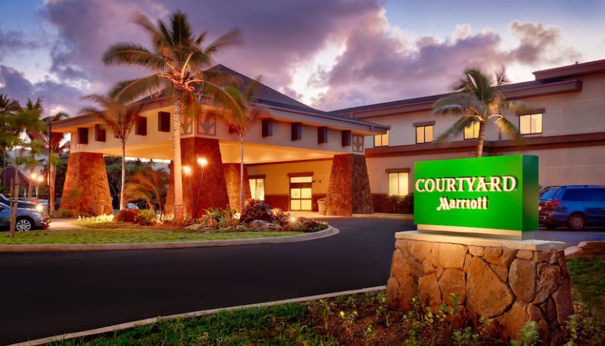 Honolulu Airport to Courtyard Marriott